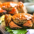 The hairy crab, also known as the Chinese mitten crab, is considered a delicacy in China.